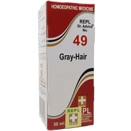 Buy REPL Dr.Advice No.49 GRAY-HAIR | Buy REPL medicine for Grey Hair