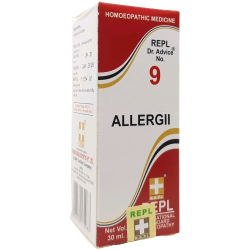 Buy REPL Dr.Advice No.9 ALLERGII | Buy REPL medicines for allergy onli…