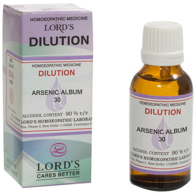 Arsenic Album 30CH 30 ml Buy Online Homoeopathic Medicine | Best Offers |