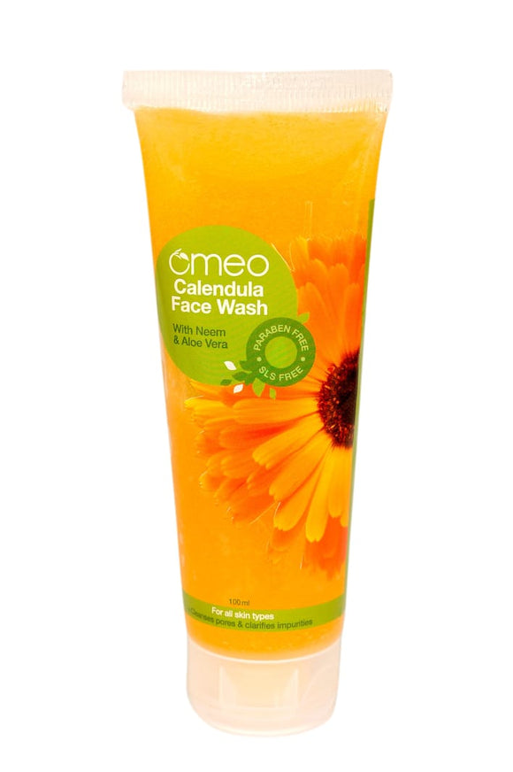Omeo calendula facewash buy online the homoeopathy store