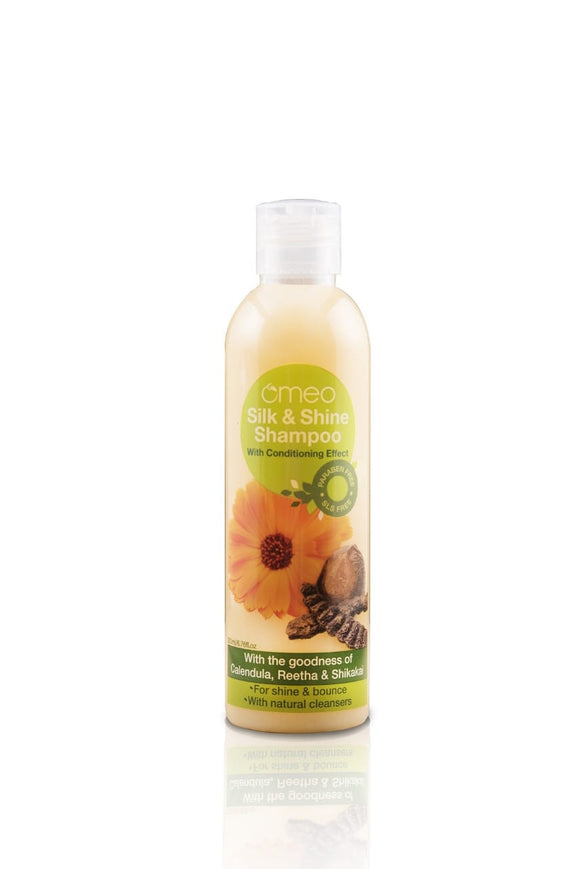 Omeo silk & shine shampoo 100 ml
