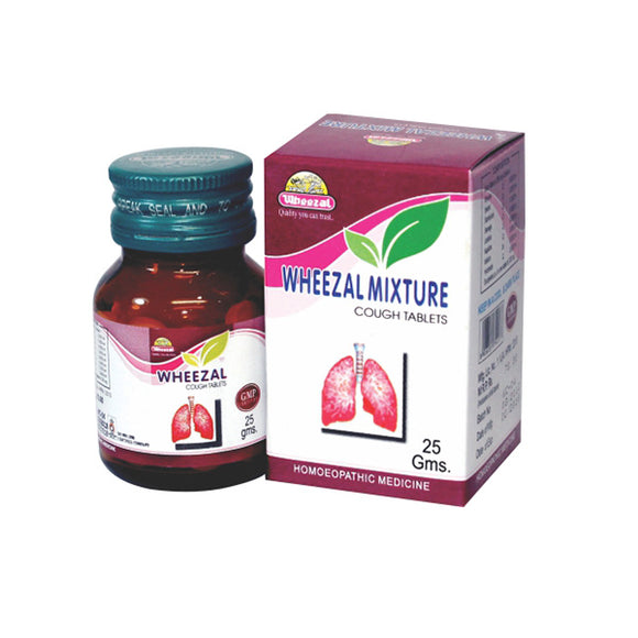 Wheezal Mixture Cough Tablets