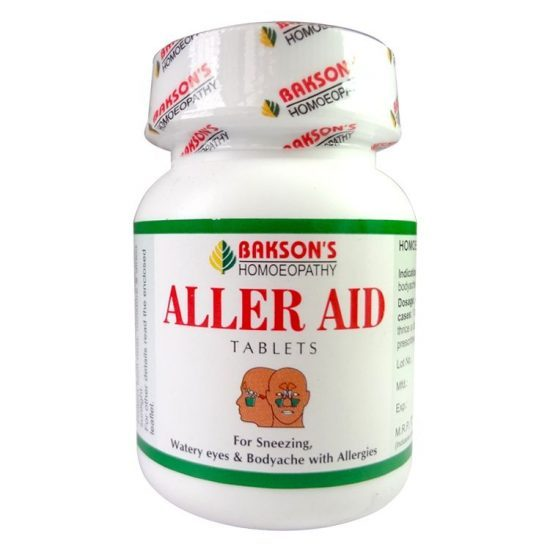 Aller Aid tabs  Buy online homoeopathic medicine the homoeopathy store