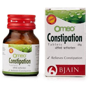 Omeo constipation tabs buy online the homoeopathy store