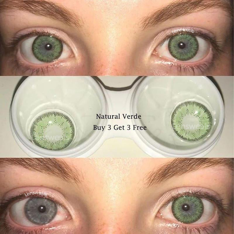 [US Warehouse] Natural Verde Contact Lenses