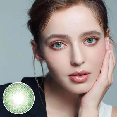 Original Holland Green Prescription Yearly Colored Contacts