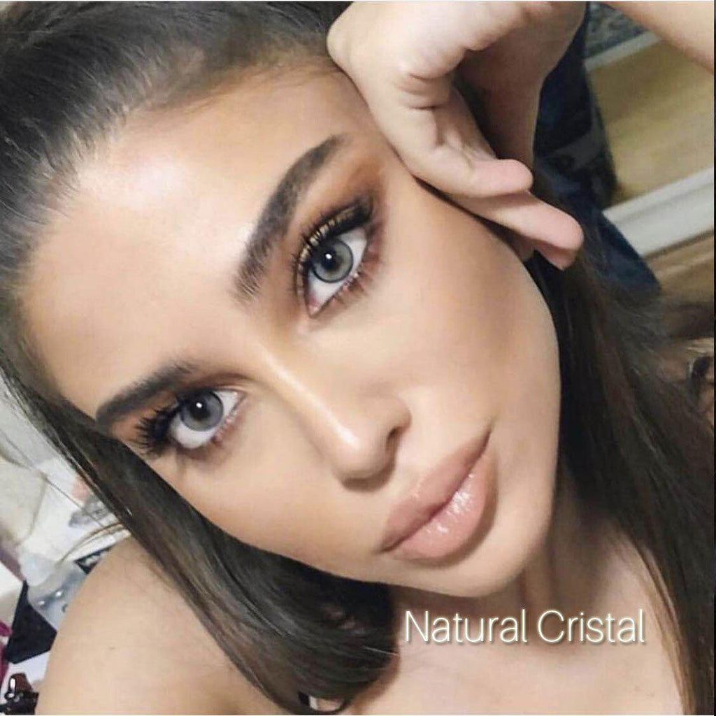 [US Warehouse] Natural Cristal Yearly Colored Contacts
