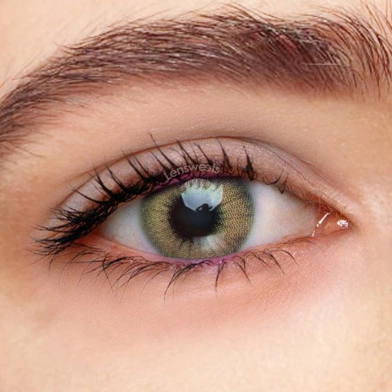 [US Warehouse] Ocean Jade Prescription Yearly Colored Contacts