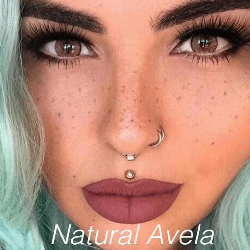 Natural Avela (12 Month) Contact Lenses - StunningLens