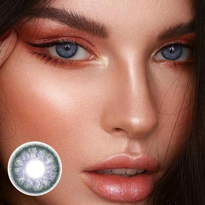 Opal Grey Yearly Colored Contacts