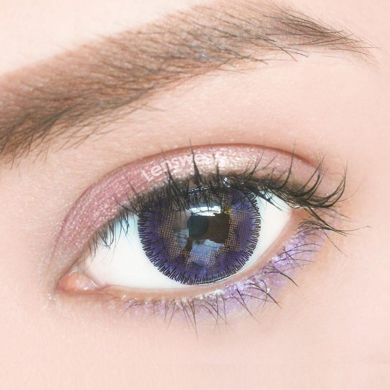 Marble Violet Yearly Colored Contacts