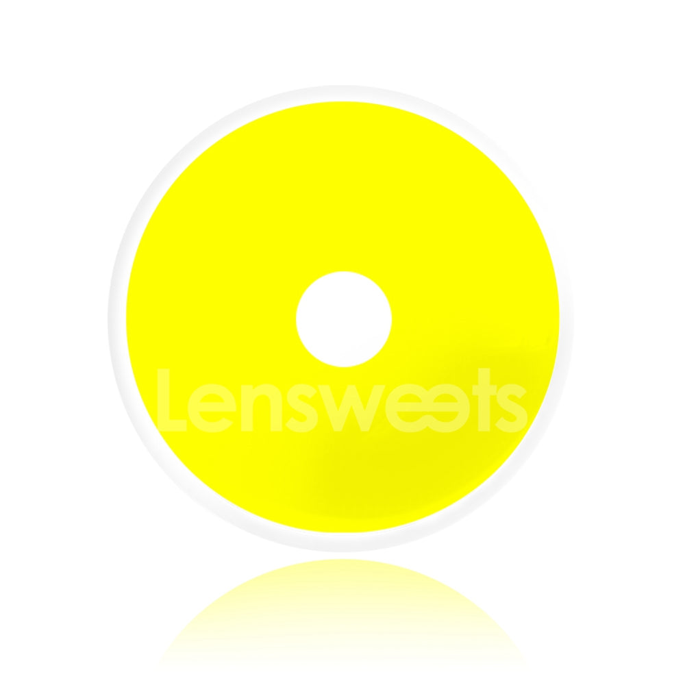 [Special Offer] Yellow Sclera 22mm Yearly Colored Contacts