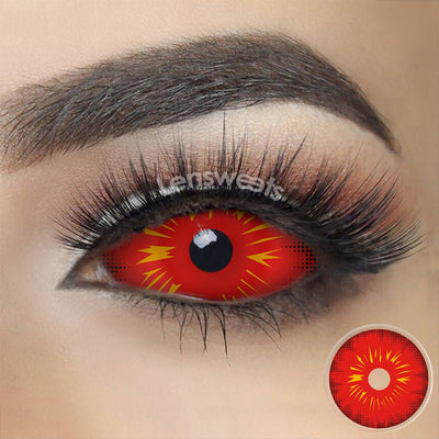 [Special Offer] Red Fire Sclera Yearly Colored Contacts