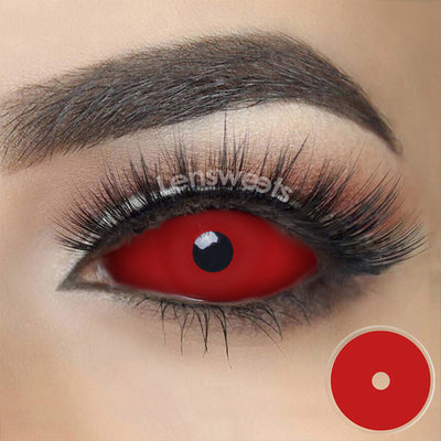 [Special Offer] Red Sclera 22mm Yearly Colored Contacts
