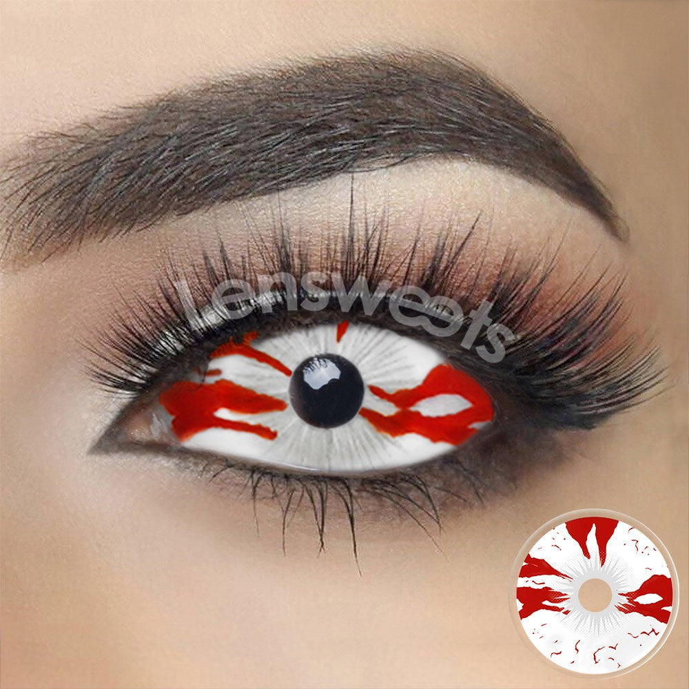 [Special Offer] Bloodstained Sclera Yearly Colored Contacts