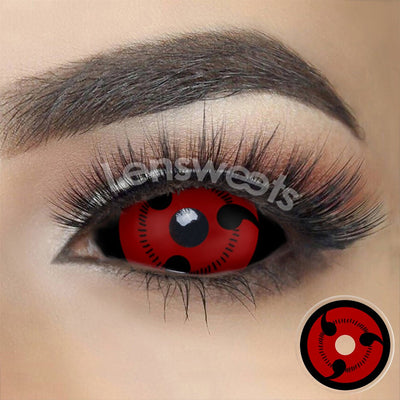 [Special Offer] Uchiha Sharingan Sclera Yearly Colored Contacts