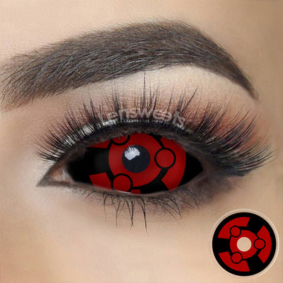 [Special Offer] Madara Uchiha Sclera Yearly Colored Contacts