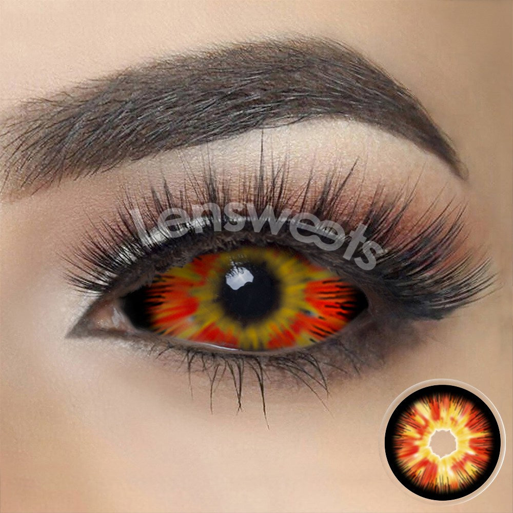 [Special Offer] Flare Darth Maul Sith Sclera 22mm Yearly Colored Contacts