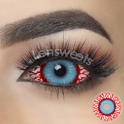 [Special Offer] Bloodshot Infected Zombie Sclera Yearly Colored Contacts