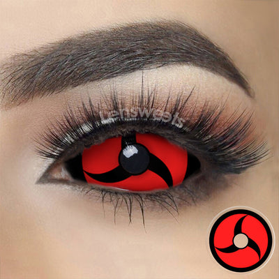 [Special Offer] Mangekyo Sharingan Sclera Yearly Colored Contacts