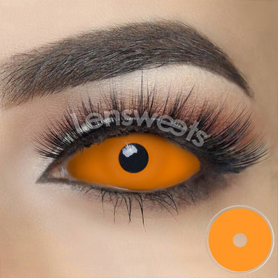 [Special Offer] Orange Sclera Yearly Colored Contacts