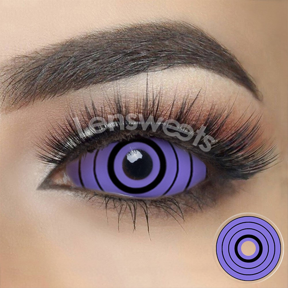[Special Offer] Rinnegan Naruto Colossus Sclera 22mm Yearly Colored Contacts