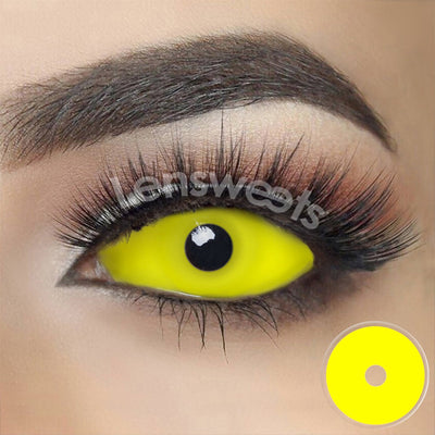 [Special Offer] Yellow Sclera Yearly Colored Contacts