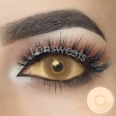 [Special Offer] Blind Yellowish Sclera Yearly Colored Contacts