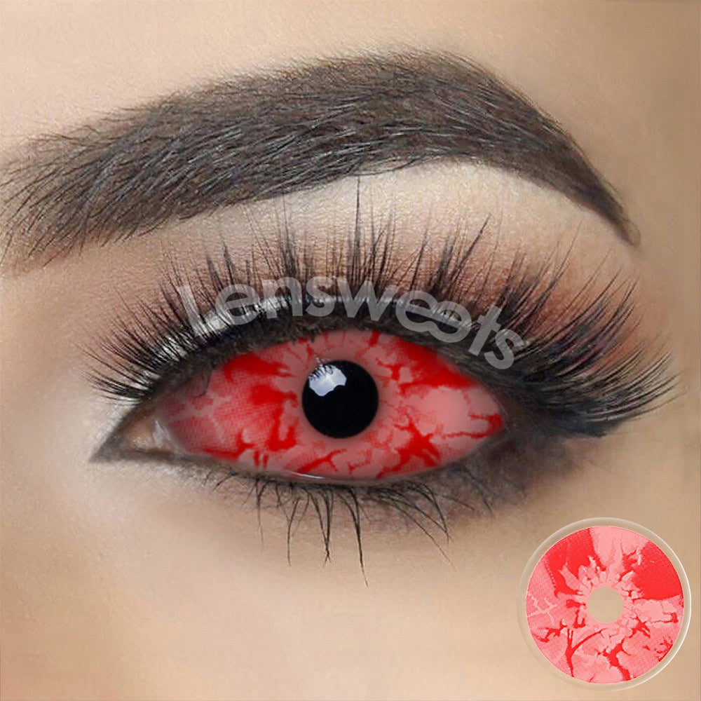 [Special Offer] Bloody Zombie Sclera 22mm Yearly Colored Contacts