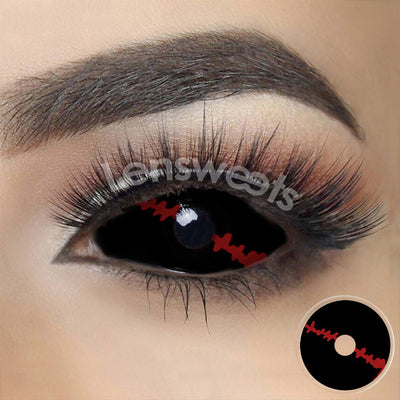 [Special Offer] Redlash Black Sclera Yearly Colored Contacts