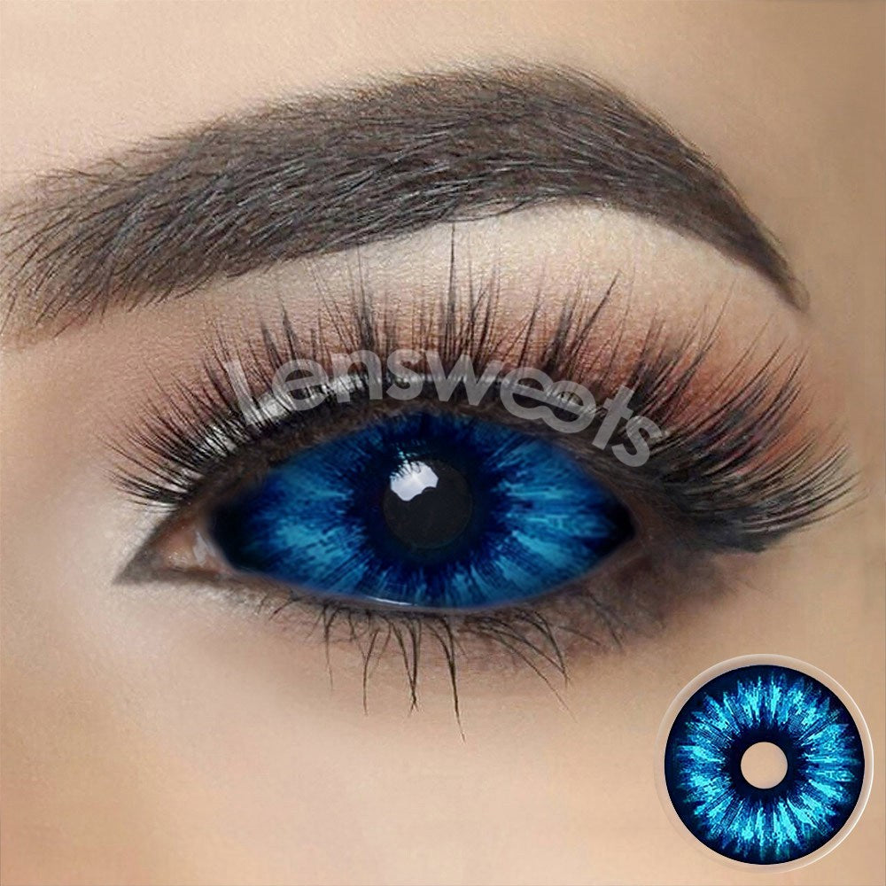 [Special Offer] Snowy Night Sclera 22mm Yearly Colored Contacts