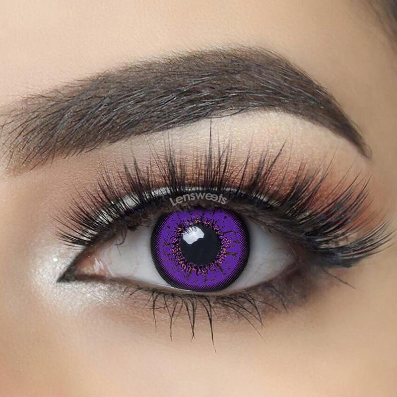 Flame Violet Yearly Colored Contacts