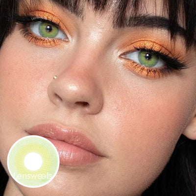 Pixie Green Colored Contacts