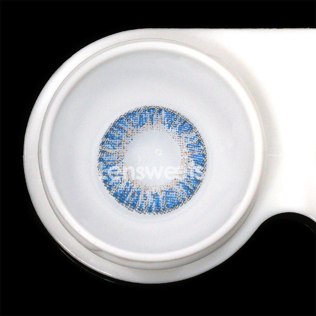 [US Warehouse] Ocean Dark Blue Yearly Colored Contacts