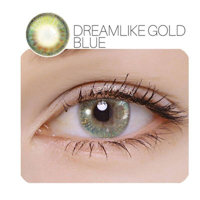Dreamlike Blue Prescription Contact Lenses