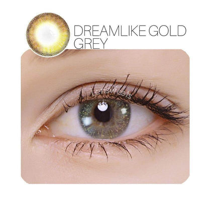 Dreamlike Grey Prescription Colored Contacts