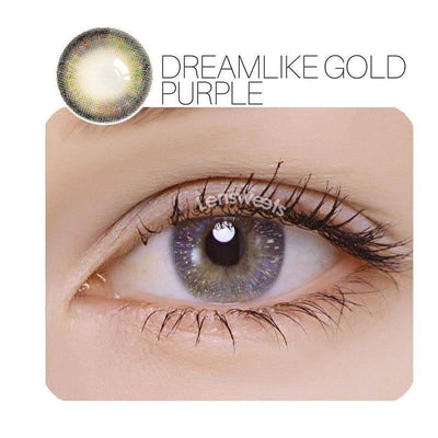 Dreamlike Purple Prescription Contact Lenses