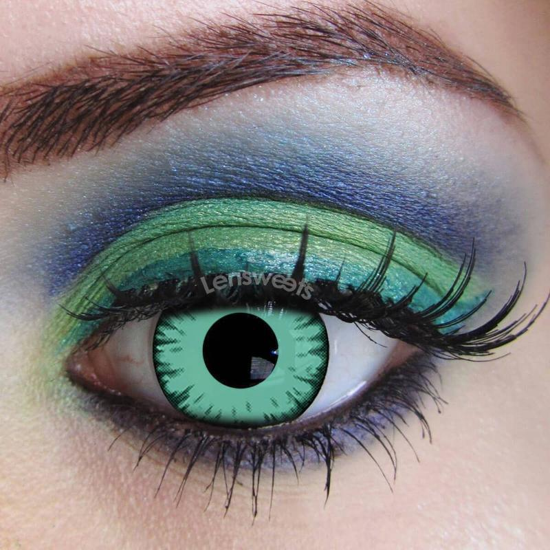 [Special Offer] Twilight Cosplay Green Yearly Colored Contacts