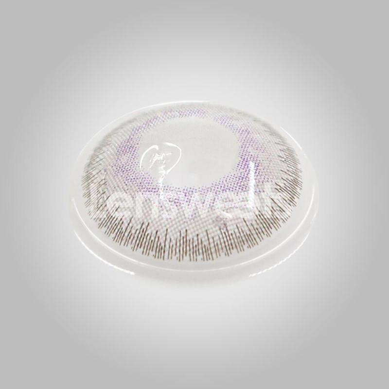 [US Warehouse] Fantasy Lavender Grey Yearly Colored Contacts
