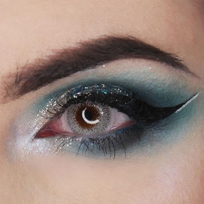 Snow Flake Yearly Colored Contacts