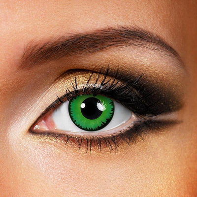 Green Werewolf Yearly Colored Contacts