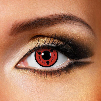 Sharingan Yearly Colored Contacts