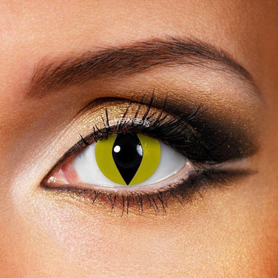 Reptile Yellow Yearly Colored Contacts