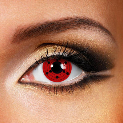 Rinne Sharingan Yearly Colored Contacts
