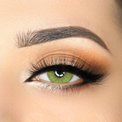 3-Tone Gemstone Green Colored Contact Lenses