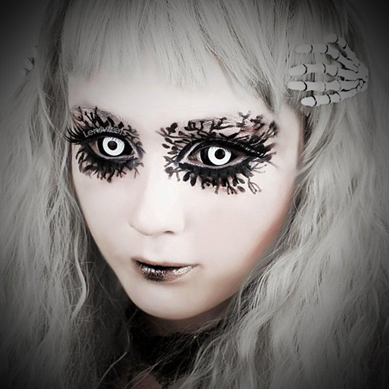 Dark Dracul Sclera Yearly Colored Contacts