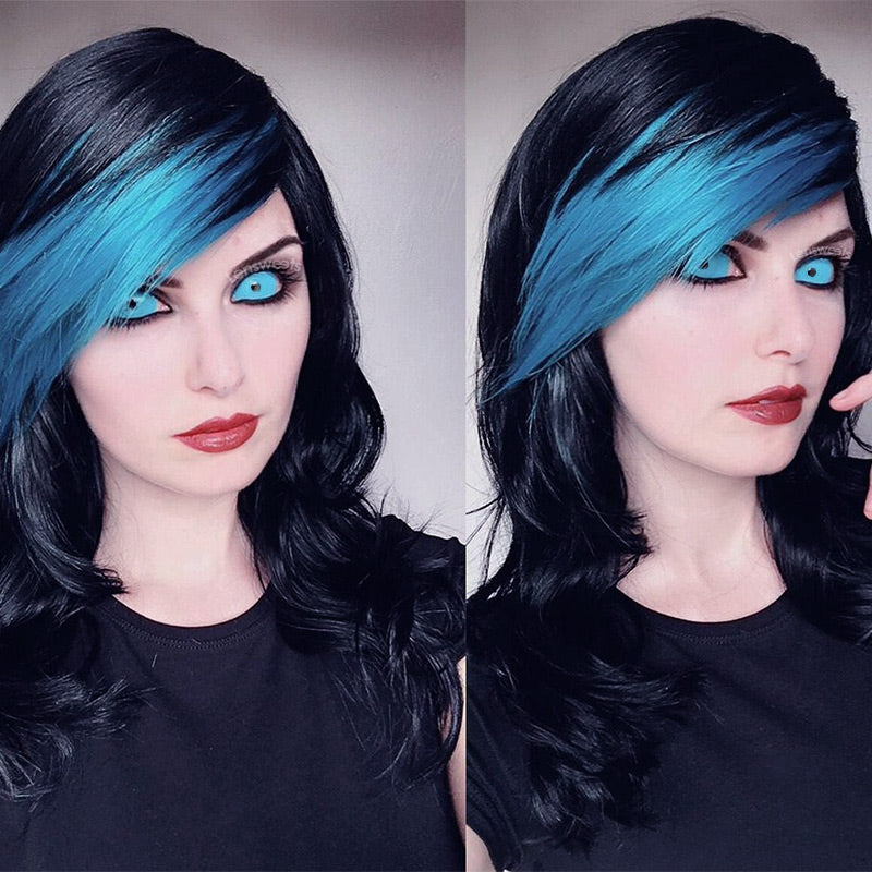 [Special Offer] Blue Sclera 22mm Yearly Colored Contacts