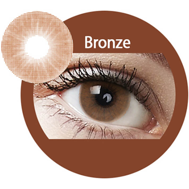 Super Naturals Bronze Yearly Colored Contacts