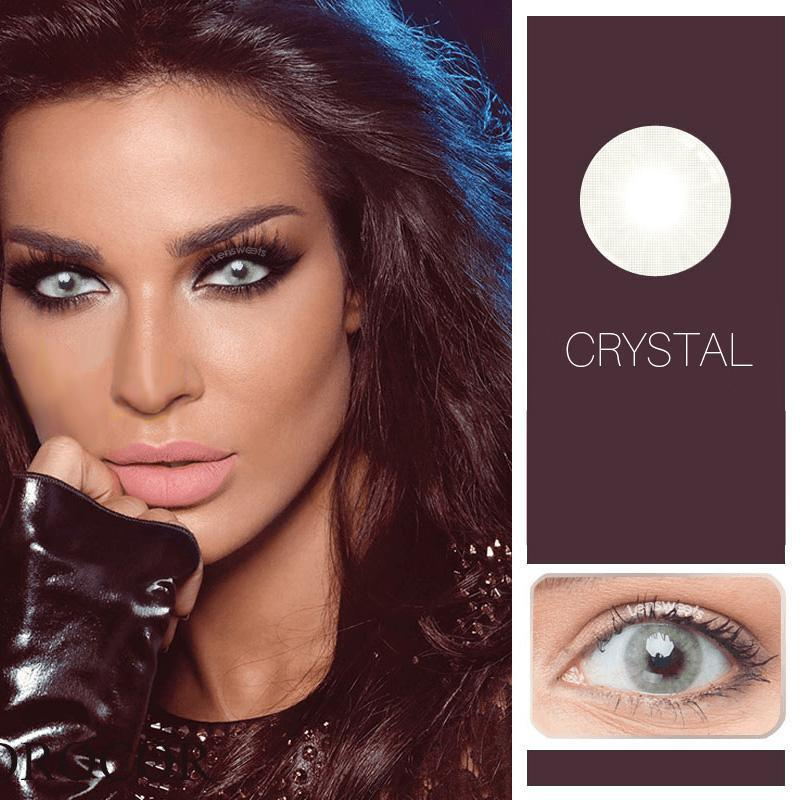 Prescription Crystal Yearly Colored Contacts