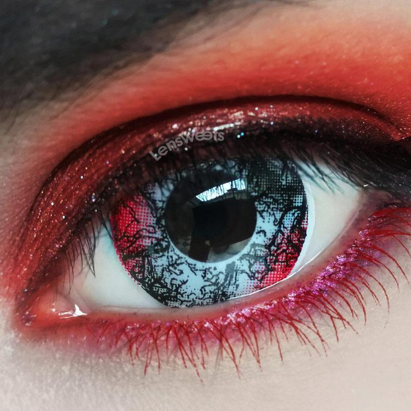 [US Warehouse] Demon Yearly Colored Contacts